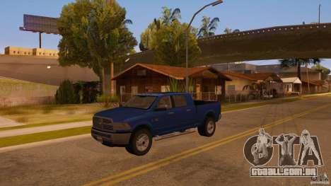 Dodge Ram 2500 HD 2012 para GTA San Andreas