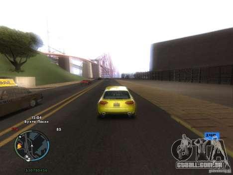 Velocímetro eletrônico para GTA San Andreas sétima tela