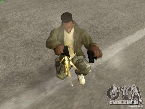 Arma G18 para GTA San Andreas segunda tela