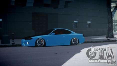 Nissan Silvia S15 JDM para GTA 4 esquerda vista