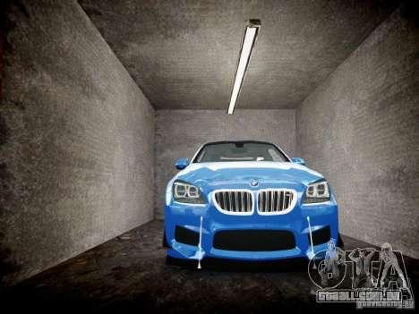BMW M6 2013 para GTA 4 vista lateral