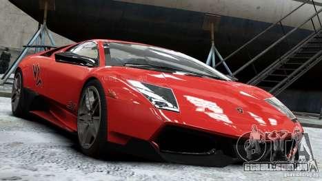 Lamborghini Murcielago LP 670-4 SV 2011 para GTA 4