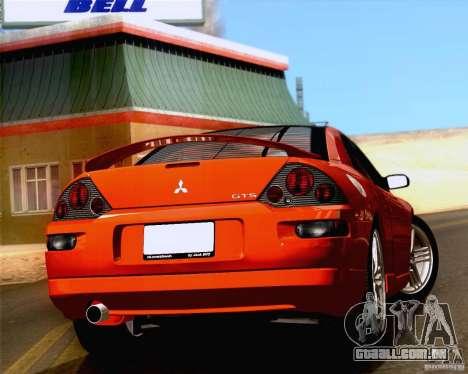Mitsubishi Eclipse GTS 2003 para GTA San Andreas traseira esquerda vista