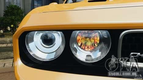 Dodge Challenger SRT8 392 2012 [EPM] para GTA 4 rodas