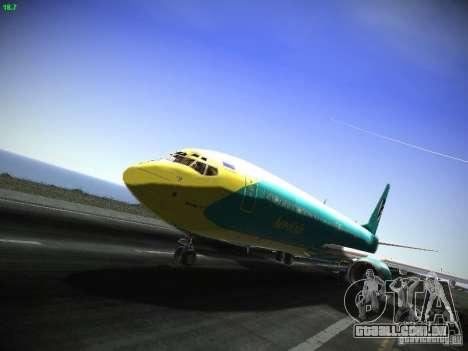 Boeing 737-84R AeroSvit Ukrainian Airlines para GTA San Andreas
