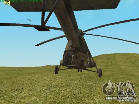 MTV MI-8 para GTA San Andreas vista direita