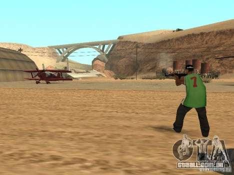 Aliados intelectuais para GTA San Andreas terceira tela