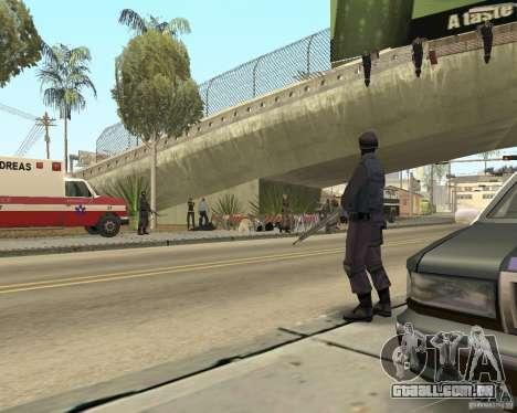 Cena do crime (cena do Crime) para GTA San Andreas terceira tela