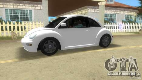 VW New Beetle para GTA Vice City deixou vista