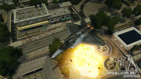 Air Combat IV para GTA 4 sexto tela