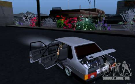 VAZ 21099 estilo Vip para GTA San Andreas esquerda vista