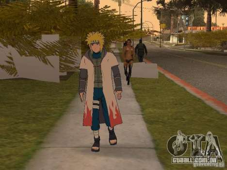 Skin Pack From Naruto para GTA San Andreas