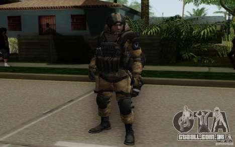 O médico de Warface para GTA San Andreas