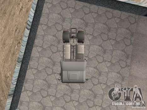 Iveco Stralis GTS para GTA San Andreas vista direita