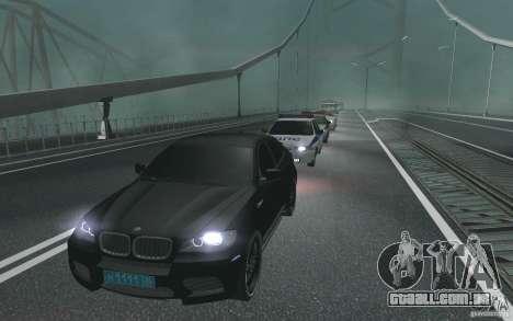 A comitiva presidencial v. 1.2 para GTA San Andreas segunda tela