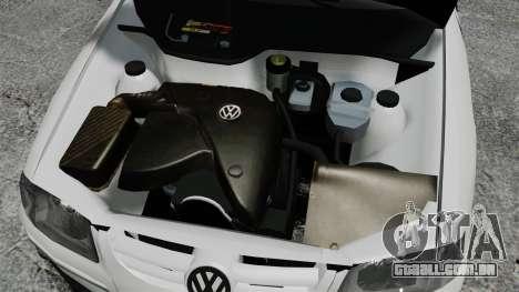Volkswagen Parati G4 PMESP ELS para GTA 4 vista interior