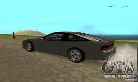Nissan SIL80 para GTA San Andreas esquerda vista