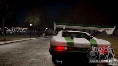 Dukes City-Drag para GTA 4 traseira esquerda vista