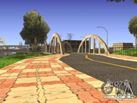New Los Santos para GTA San Andreas quinto tela