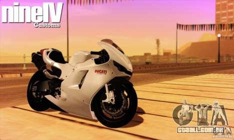 Ducati Desmosedici RR 2012 para GTA San Andreas