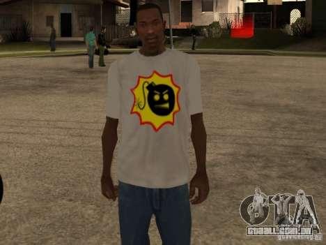 Nova t-shirt para GTA San Andreas terceira tela