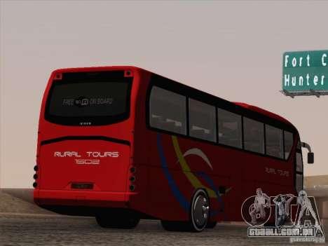 Neoplan Tourliner. Rural Tours 1502 para as rodas de GTA San Andreas