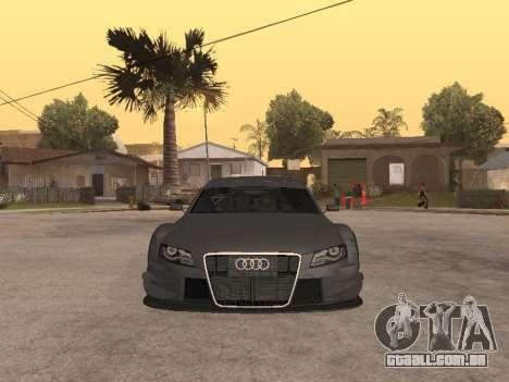 Audi A4 Touring para GTA San Andreas esquerda vista