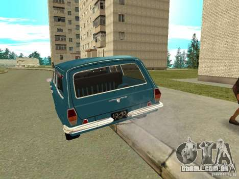 Volga GAZ 24-12 para GTA San Andreas vista direita