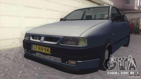 Seat Ibiza GLXI 1.4 1994 para GTA San Andreas