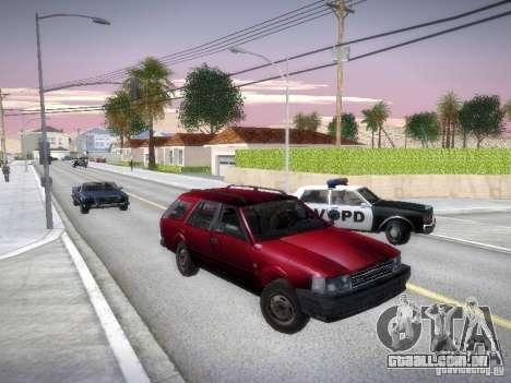 Nissan Bluebird Wagon para GTA San Andreas vista traseira