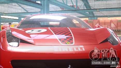 Ferrari 458 Italia 2010 Autovista para GTA 4 vista direita