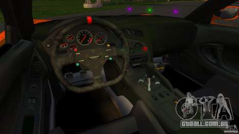 Mazda RX-7 Veilside Tokyo Drift para GTA 4 vista de volta