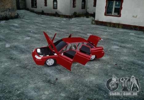 VAZ 2110 para GTA 4 vista superior