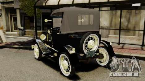 Ford Model T 1926 para GTA 4 traseira esquerda vista