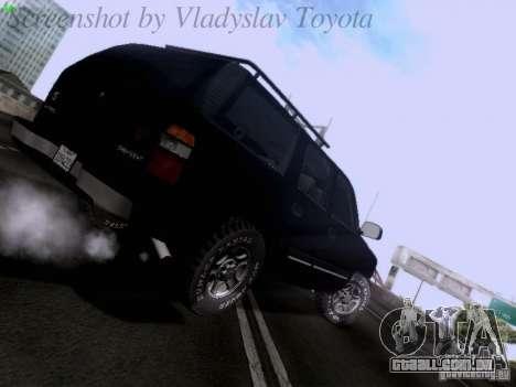 Chevrolet Tahoe 2003 SWAT para GTA San Andreas vista direita