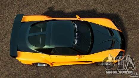 Mazda RX-7 Veilside Tokyo Drift para GTA 4 vista direita