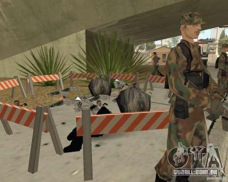 Cena do crime (cena do Crime) para GTA San Andreas quinto tela