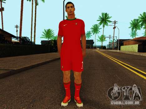 Cristiano Ronaldo v4 para GTA San Andreas