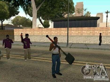 Lopatomët para GTA San Andreas segunda tela