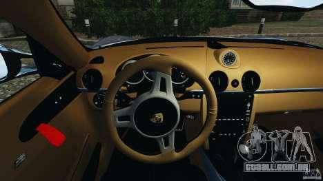 Porsche Cayman R 2012 [RIV] para GTA 4 rodas