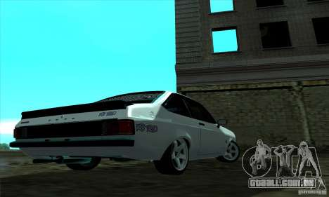 Ford Escort RS 1600 para GTA San Andreas esquerda vista
