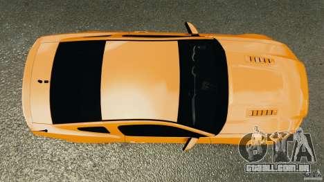 Ford Mustang 2013 Police Edition [ELS] para GTA 4 vista direita