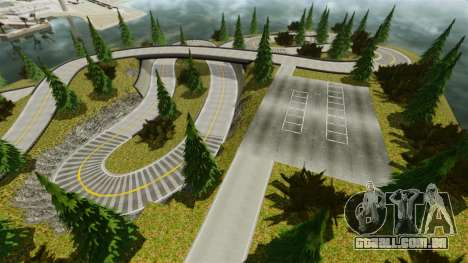 Edem Hill Drift Track para GTA 4 segundo screenshot