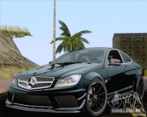 Playable ENB Series v1.2 para GTA San Andreas por diante tela