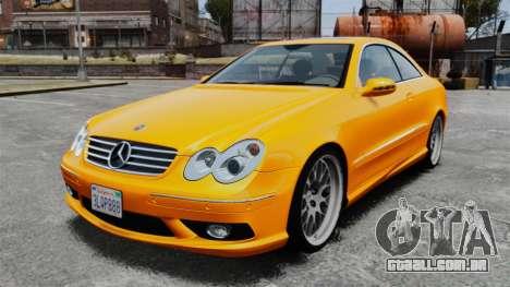Mercedes-Benz CLK 55 AMG para GTA 4