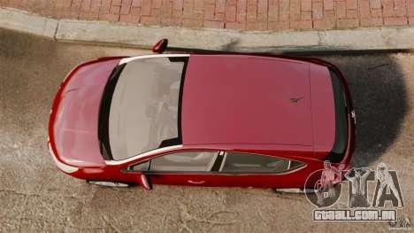 Citroen DS4 2012 para GTA 4 vista direita