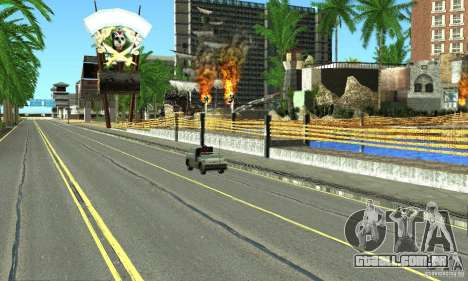 Real HQ Roads para GTA San Andreas décima primeira imagem de tela