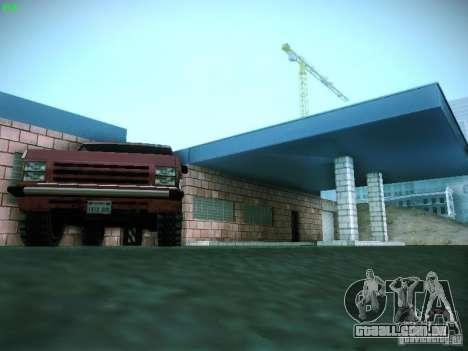 Nova garagem em San Fierro para GTA San Andreas oitavo tela