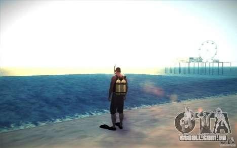 Tanque de mergulho para GTA San Andreas segunda tela