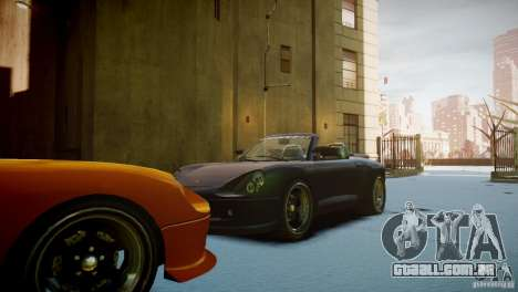 Comet Speedster para GTA 4 vista de volta